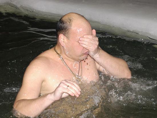 Московская оттепель моржам не помеха