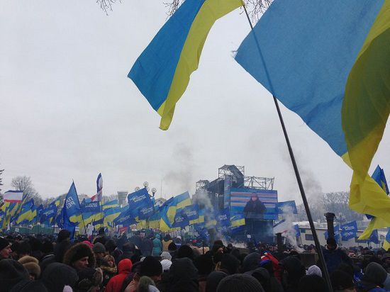 Верховная Рада и Администрация Януковича захвачены протестующими