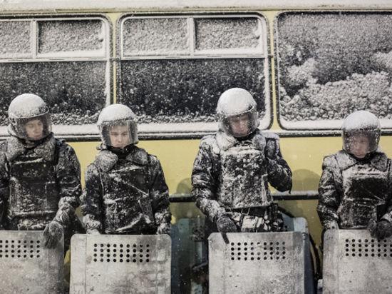 Киевская милиция частично разблокировала центр города
