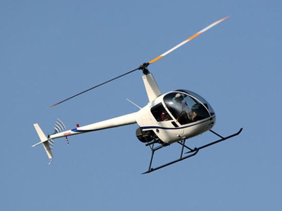 Морозы прогнали вертолет премьера от Белого дома