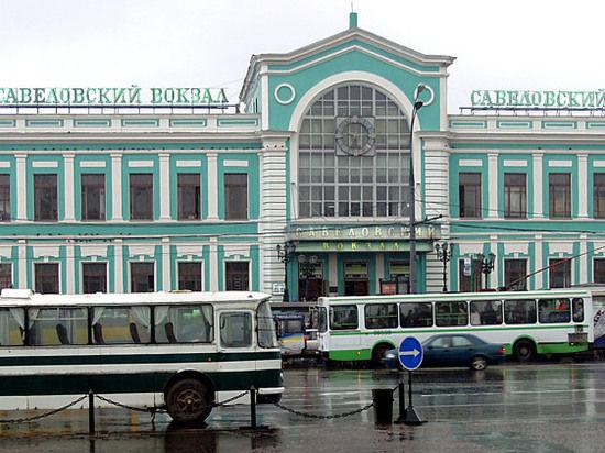 На Савеловском вокзале обрушилась пассажирская платформа