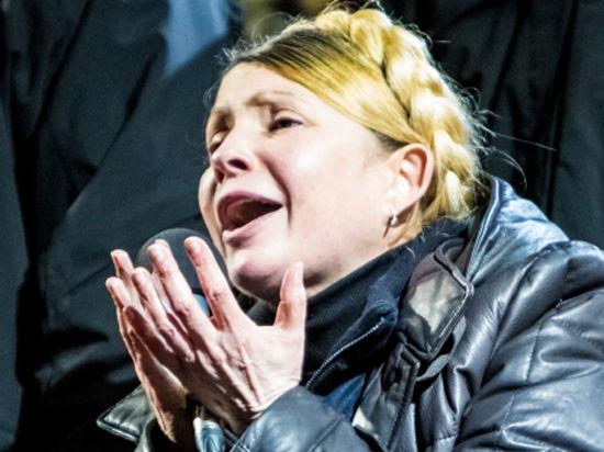 Тимошенко призвала привезти на Майдан Януковича «со всей этой швалью»