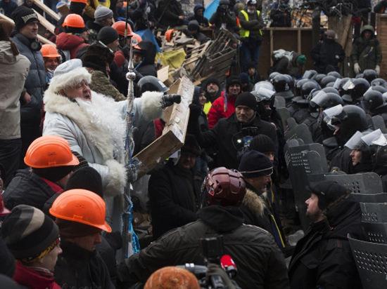 Оборона киевской мэрии: «Беркут» не смог захватить здание