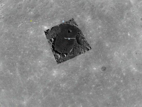 При помощи программы Google Moon удалось найти базу пришельцев
