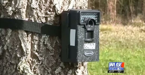 Пожилые американцы случайно сняли на камеру странный объект, напоминающий НЛО