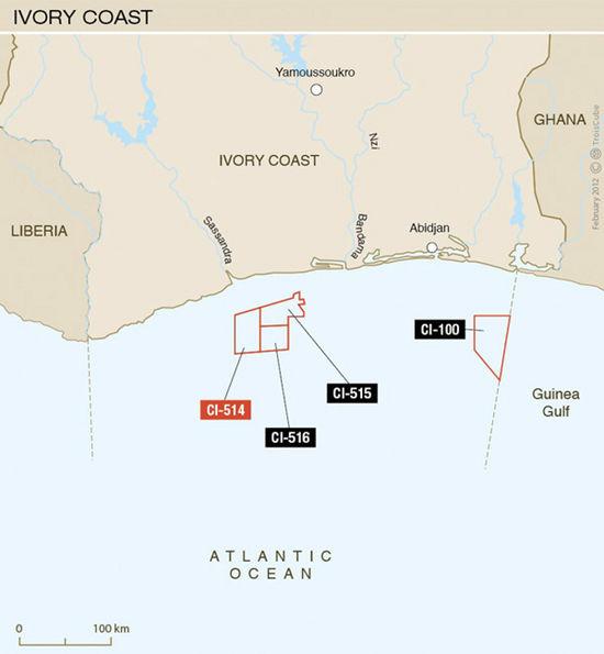 Французы обнаружили возле Африки новые запасы нефти