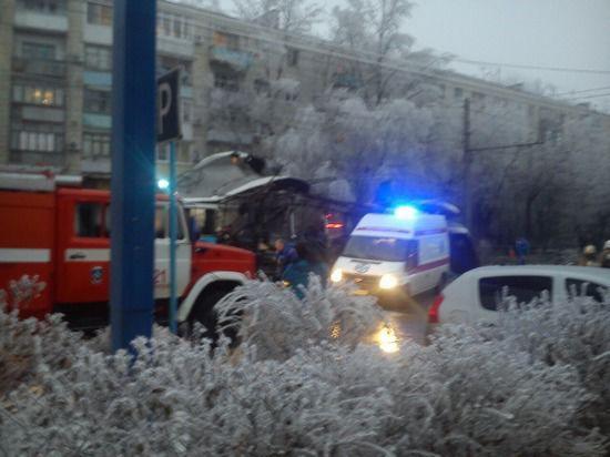В Волгограде произошел второй теракт: бомба взорвана в троллейбусе
