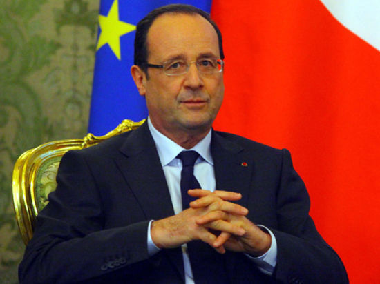 Французский президент объявил о разрыве с гражданской женой