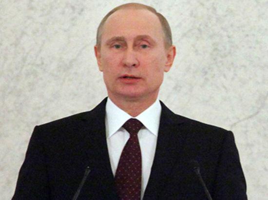 Владимир Путин, борец с тьмой