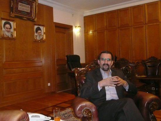 Посол Ирана в России Мехди Санаи: «Иран развивает исключительно мирный атом, не развивая военных аспектов»