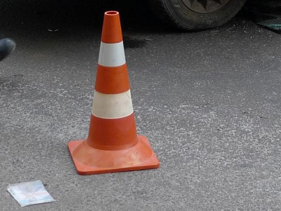 Столичный полицейский сбил женщину на пешеходном переходе