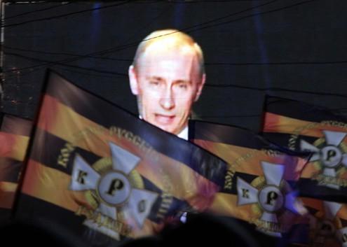 черно желтый флаг россии