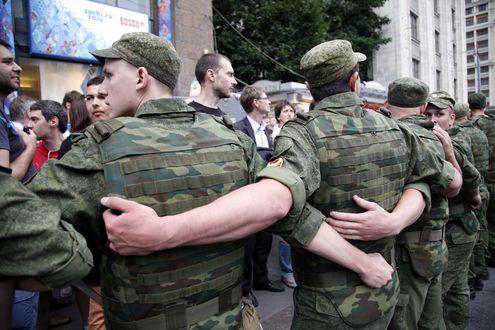 Сход сторонников Навального