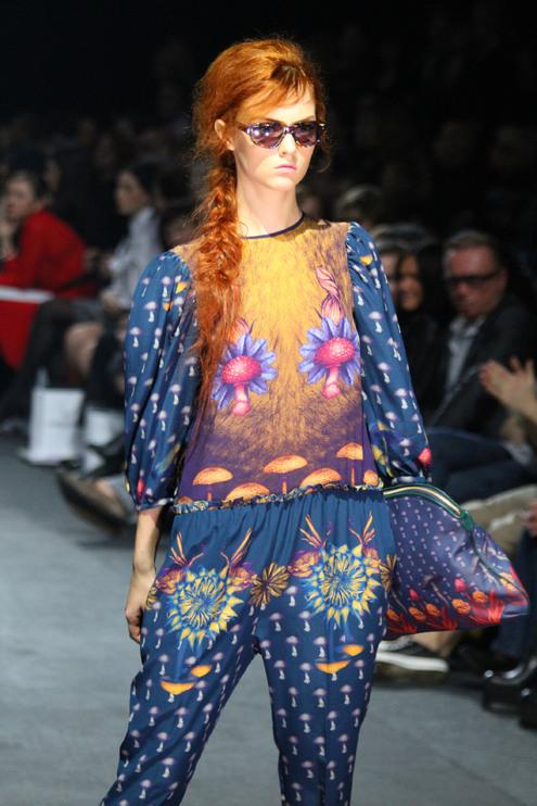 В светский раут превратился заключительный день московской Недели моды