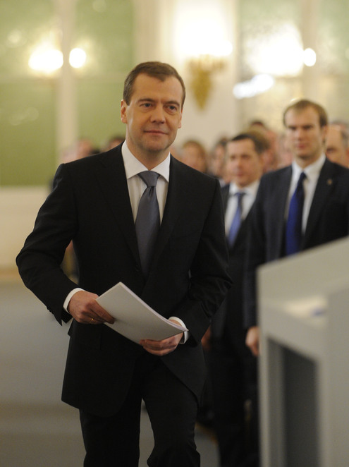 Медведев провозгласил курс на реформы