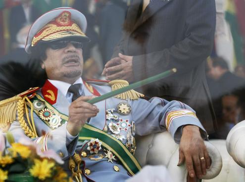 Муаммар Каддафи взывает к совести России
