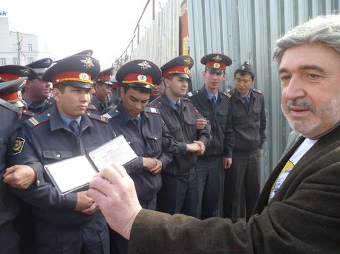 Депутаты Госдумы схлестнулись с ОМОНом