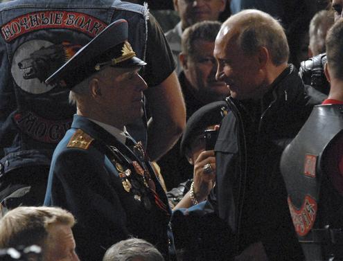 Путин стал «трайкером»