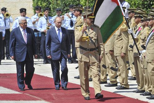 Путин посетил Израиль