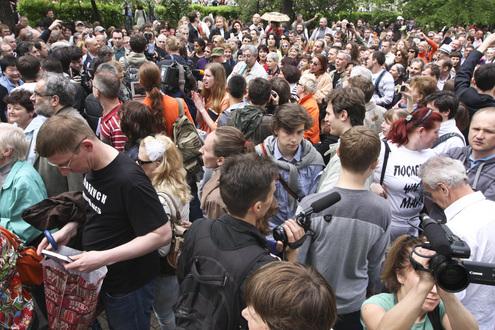 В Москве состоялся Марш писателей