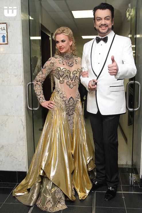 Филипп Киркоров и Камалия.