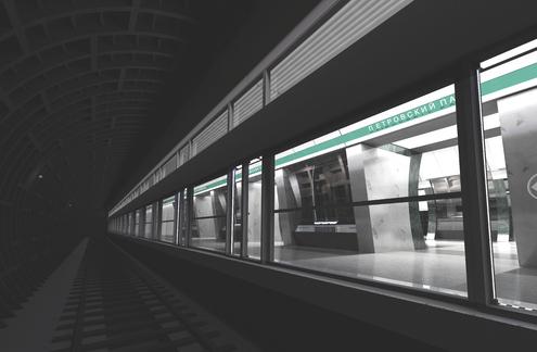 """Проект станции """"Петровский парк"""". Иллюстрация с сайта www.mk.ru"""