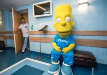 Барт Симпсон стал новым талисманом «Зенита»
