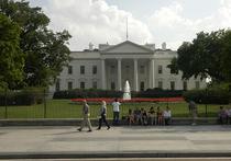Вокруг Белого дома появится сад из бегоний