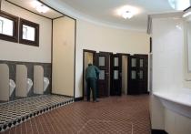 В парке Горького восстановили высокохудожественный общественный туалет