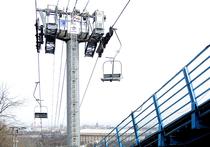Канатная дорога доставит пассажиров от Лужников до Воробьевых гор за пять минут