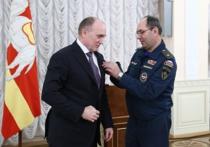 Губернатор Челябинской области награжден медалью МЧС
