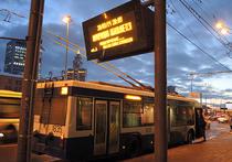 В Москве от удара током в троллейбусе пострадали две женщины
