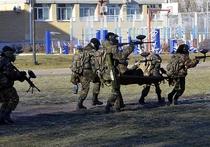 Кадеты Ставрополя поиграли в войнушку-новацию