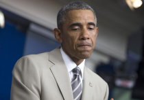 """Из гардероба дедушки"": Обама насмешил мир своим бежевым костюмом"