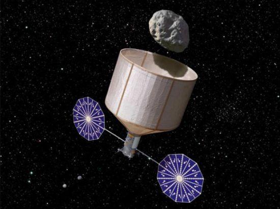 Американцы хотят превратить Луну в кладбище астероидов