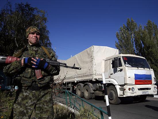 50 российских КамАЗов четвертого гумконвоя отправляются на Донбасс