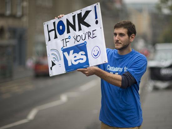 Опрос Ipsos Moril: Шотландия остается в составе Великобритании