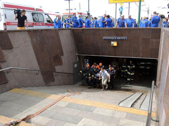 Задержаны еще два возможных виновника аварии в столичном метро