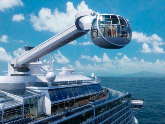 Американо-норвежский проект: новый Титаник с кабиной, поднимающей пассажиров на 100 метров над бортом
