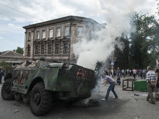 Жители Славянска оказались на грани голода из-за блокады Нацгвардии