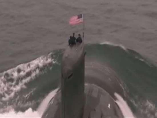 Подводная лодка США вторглась в приграничные воды России