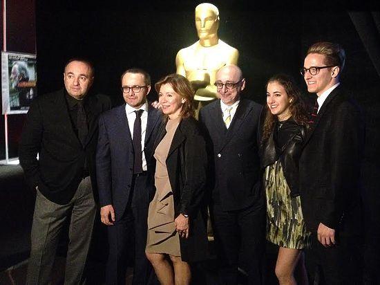 «Левиафан» получил свой персональный свиток от киноакадемии «Оскар»