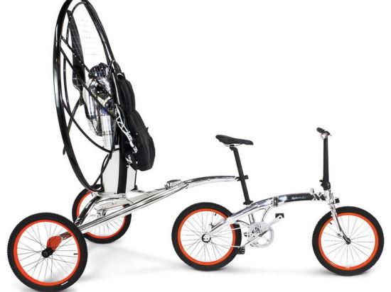 Представлен первый в мире летающий велосипед