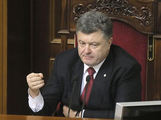 Порошенко призвал Россию вывести войска из Донбасса и закрыть границу