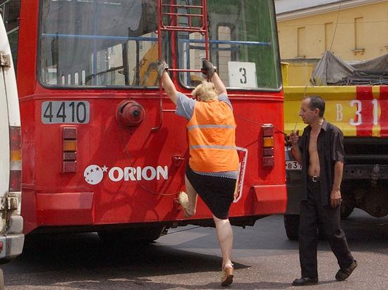 В Москве грядет массовая замена троллейбусов  на автобусы