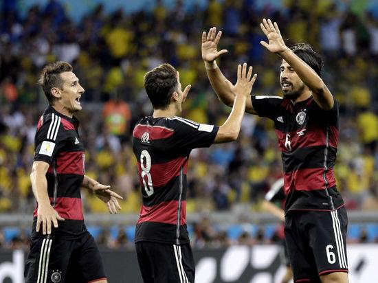 ЧМ-2014: Бразилия - Германия: