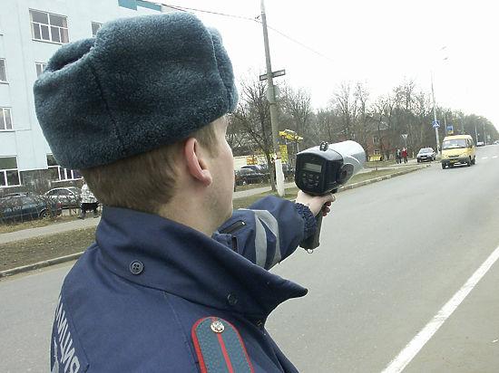 Российским водителям придется ездить на 10 км/ч медленнее