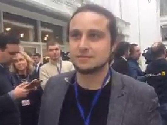 Журналист из России облаял коллег на саммите в Минске