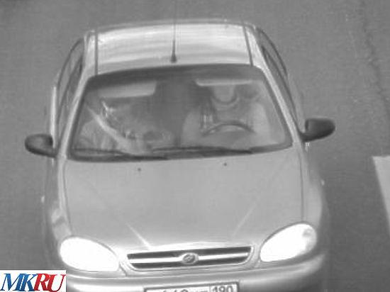 Опубликовано фото предполагаемых убийц Немцова в автомобиле