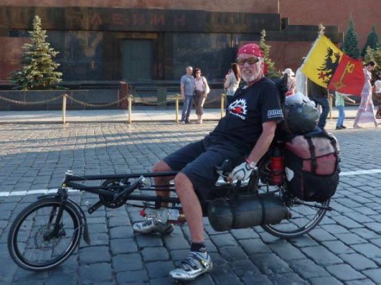 Американский путешественник-велосипедист стал жертвой пьяного водителя в Ивановской области